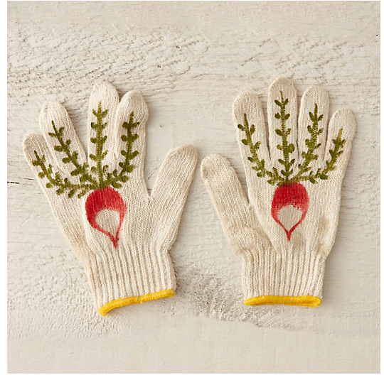 radish gloves for Terrain