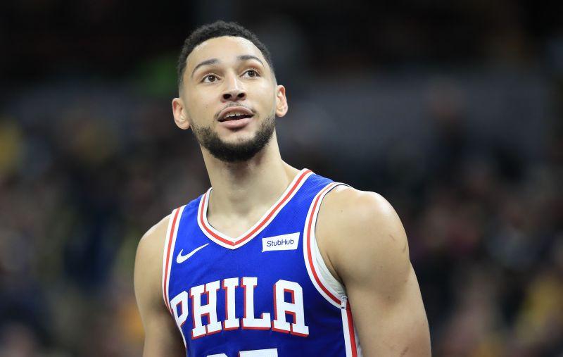 infortunio Ben Simmons NBA AROUND THE GAME