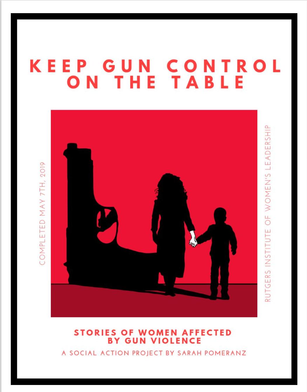 Keep Gun Control on the Table