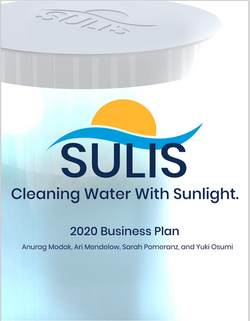 Sulis: Cleaning Water With Sunlight