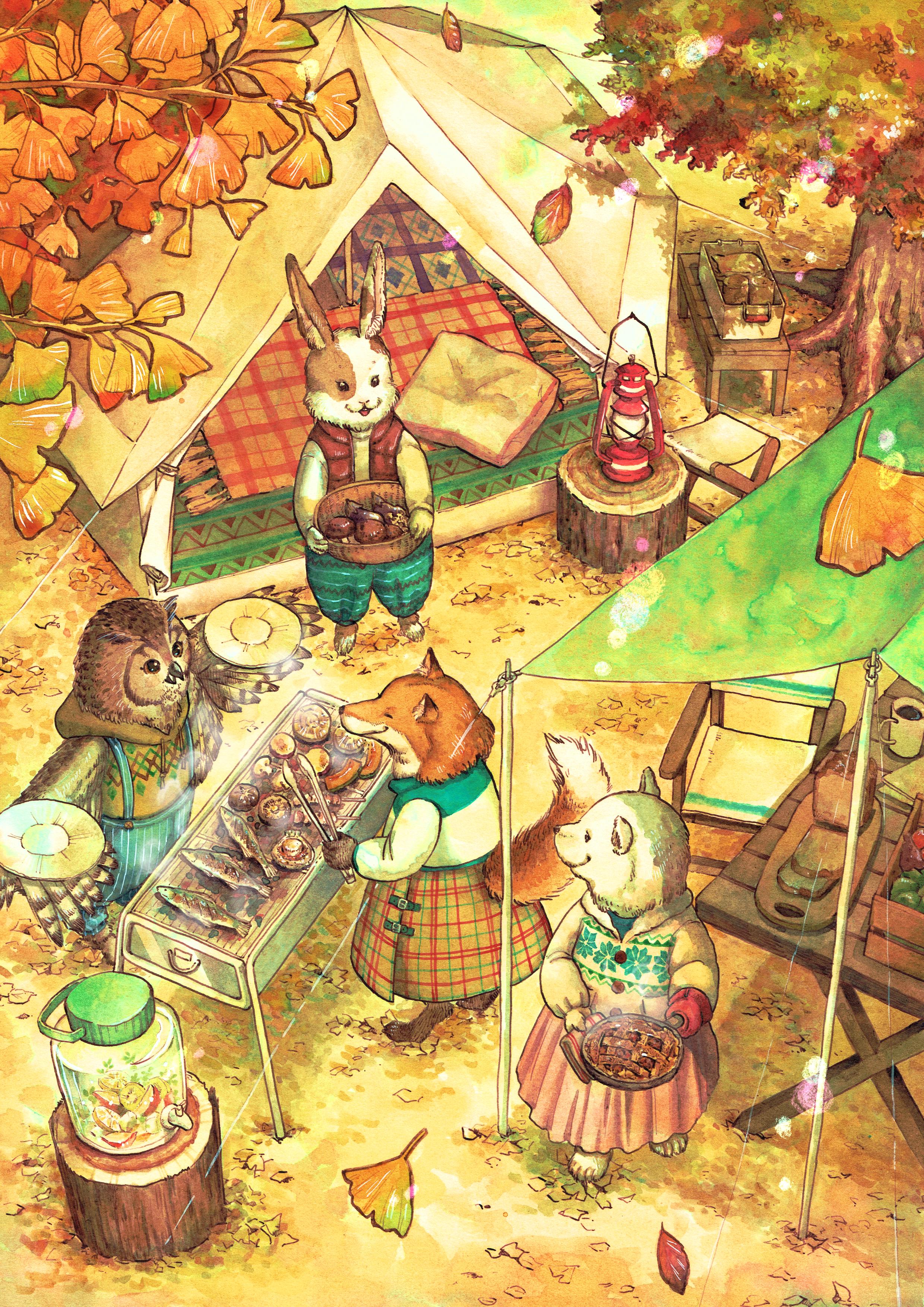 動物たちのキャンプ