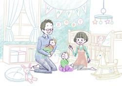 パパママと赤ちゃん