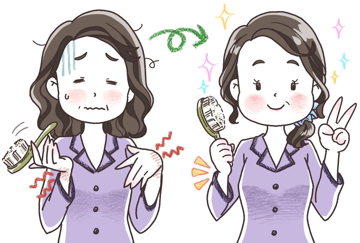 『ゆほびか2月号』体験談イラスト-②