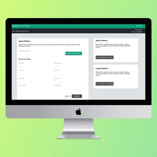 Redesign a banking customer service representative application