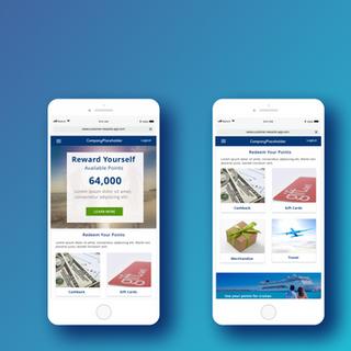 Award winning bank rewards app design
