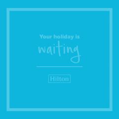 Hilton Hotels & Resorts - Facebook Carousel Advertisement