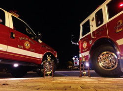 SPFD 2 truck and 48