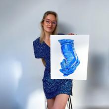 Glove & Artist
