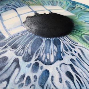 Blue and Green Eye