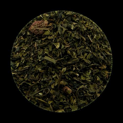 Raspberry Vanilla Mint Green Tea