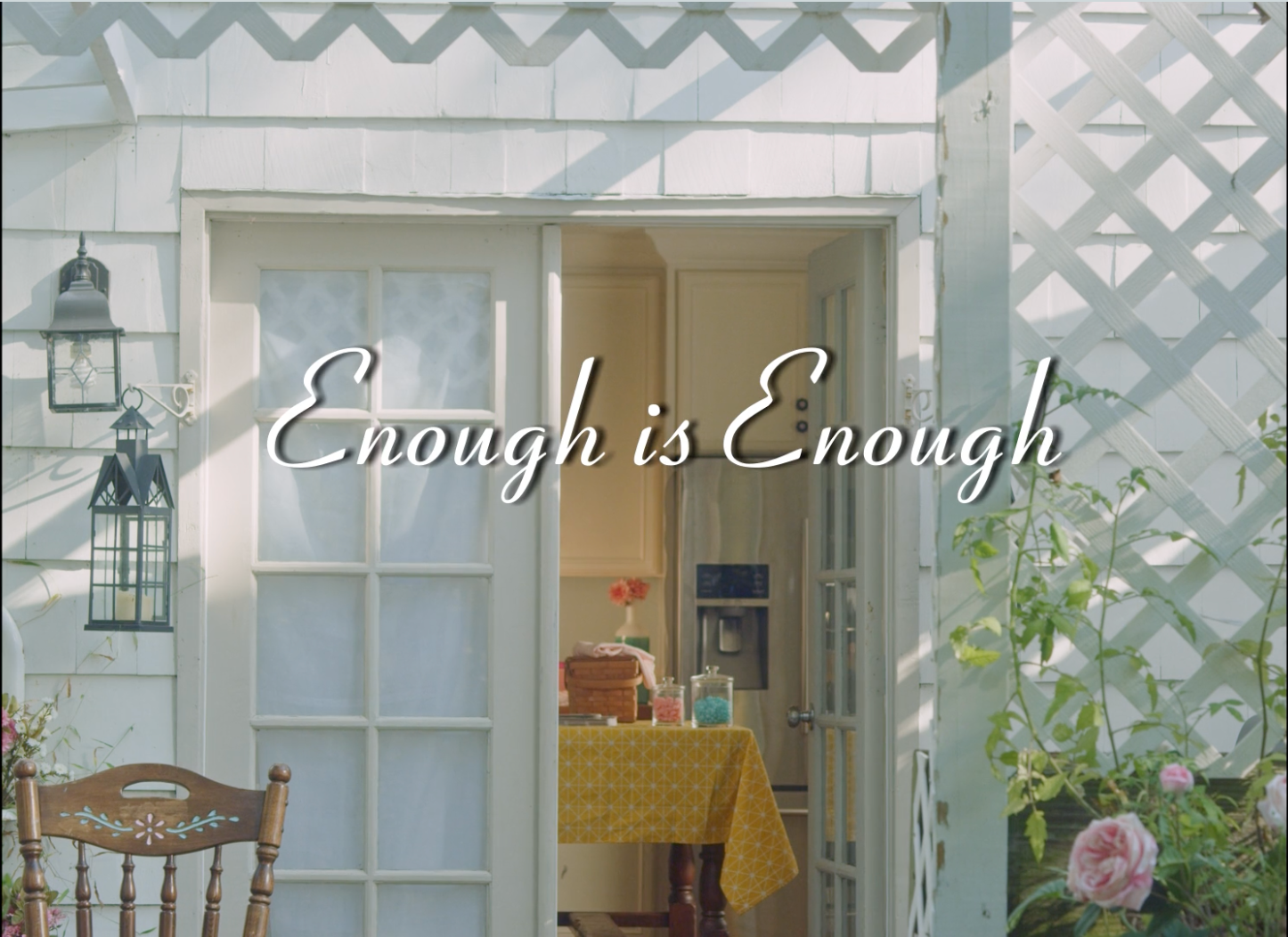 Enough is Eough