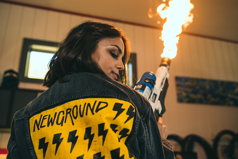 Newground Lifestyle Photos with the Boring Company Not a Flamethrower