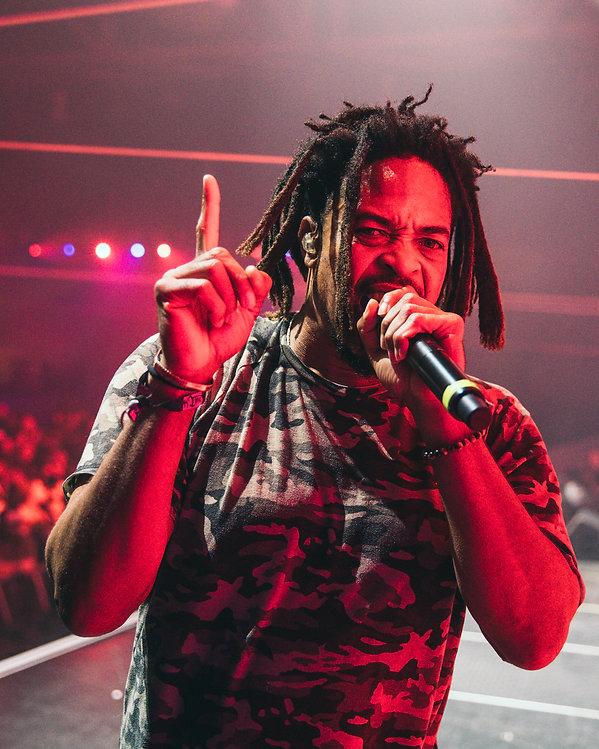 Zion I performs at HiJinx Music Festival in Philadelphia, Pennsylvania