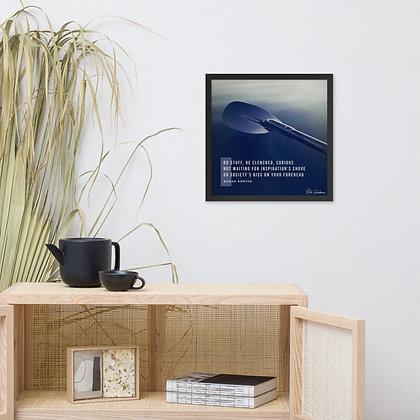 Do Stuff Framed Photo Paper Poster