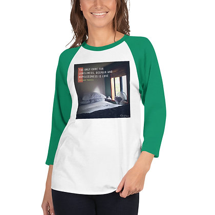 The Only Cure 3/4 Sleeve Shirt
