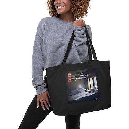 The Only Cure Large Tote Bag