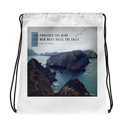God Provides Drawstring Bag