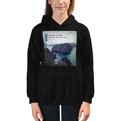 God Provides Youth Hoodie