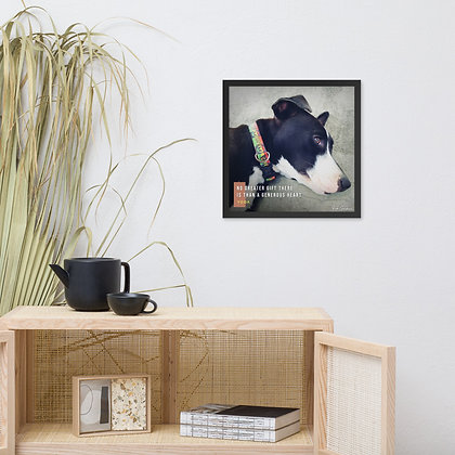 No Greater Gift Framed Photo Paper Poster