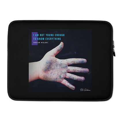 I Am Not Young Enough Laptop Sleeve