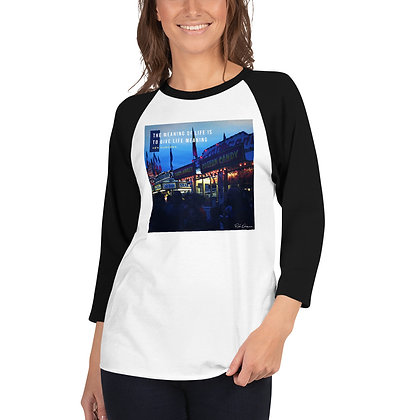 The Meaning of Life 3/4 Sleeve Shirt