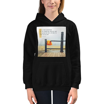 Life is Pure Adventure Youth Hoodie