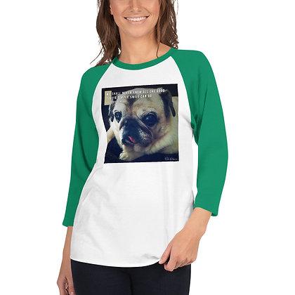 We Shall Never Know 3/4 Sleeve Shirt