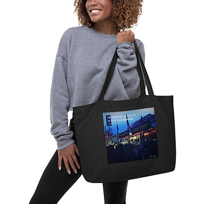 The Meaning of Life Large Tote Bag