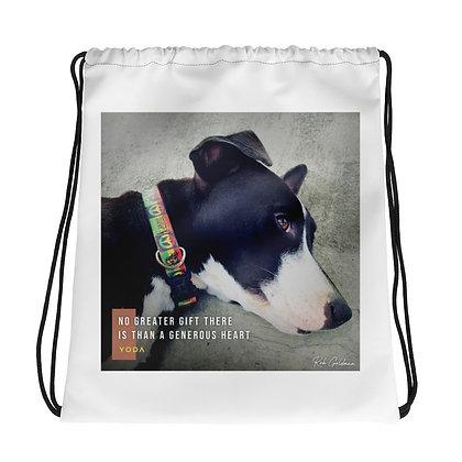 No Greater Gift Drawstring Bag