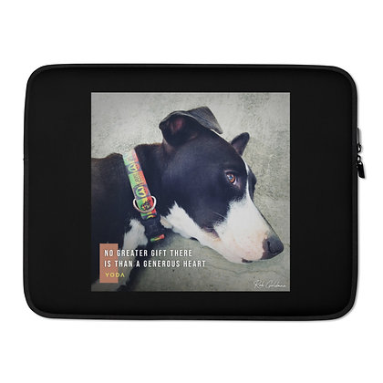 No Greater Gift Laptop Sleeve