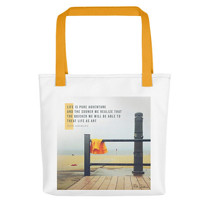 Life is Pure Adventure Tote Bag