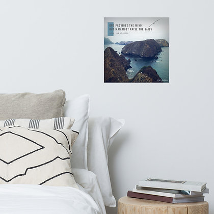 God Provides Photo Paper Poster
