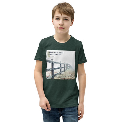 I Am Not Young Enough Youth T-Shirt
