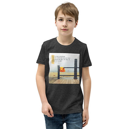 Life is Pure Adventure Youth T-Shirt