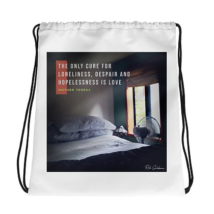 The Only Cure Drawstring Bag