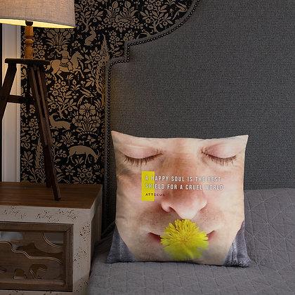 A Happy Soul Pillow