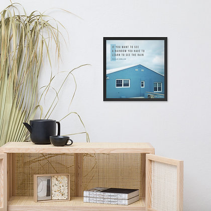If You Want to See Framed Photo Paper Poster
