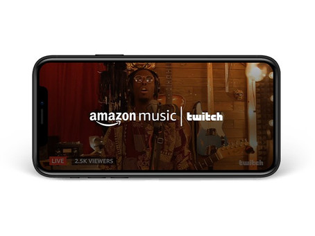 Amazon Music et Twitch s'associent pour combiner la diffusion en direct et l'écoute à la demande