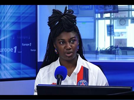 Amélie Ebongué, experte réseaux sociaux dans l'émission Culture médias - Europe 1, lundi 20 juillet