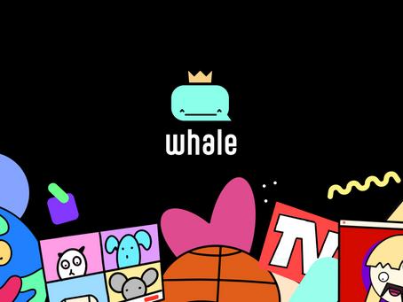 Whale, l'application de Facebook dédiée aux memes dévoile de nouvelles fonctionnalités