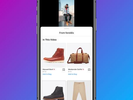 Instagram Shopping arrive sur IGTV et prochainement sur Reels
