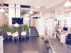 espace d'accueil des clients