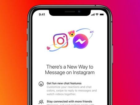 Instagram DM et Messenger se rapprochent stratégiquement et fusionnent leurs messageries instantanés