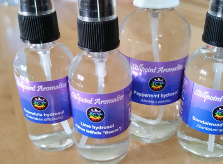 Cooling Hydrosols for Kids