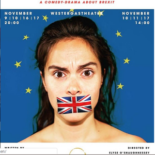 Publicity for Orange Theatre Company's 'The B Word' 2018