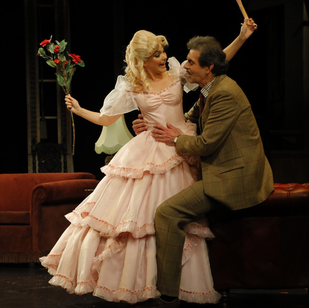 As Grace in The Ruling Class, with Dougal Leigh as Charles