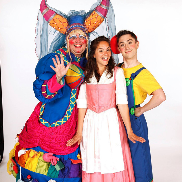 Promotional image for Beauty and The Beast for Imagine Theatre