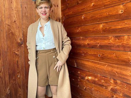 Shorts im Winter