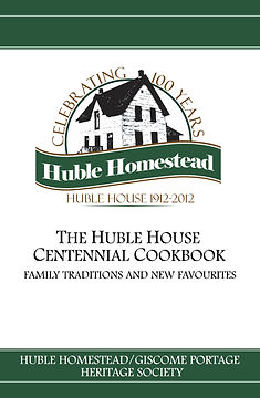Cover of The Huble House Centennial Cookbook