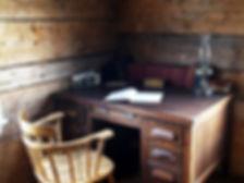 Al Huble's desk